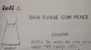 Saia Evasê